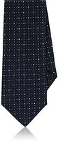 Barneys New York Men's Micro-Dot Silk Necktie