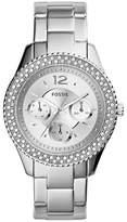Fossil Women's ES3588 Stella Multifunction Stainless Steel Watch -Tone