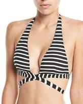 Vitamin A Sirena Wrap Halter Swim Top