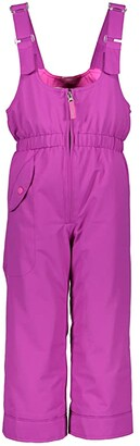 Obermeyer Snoverall Pants (Toddler/Little Kids/Big Kids) (Black) Girl's Casual Pants