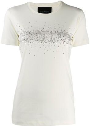 John Richmond 'richmond' stud t-shirt