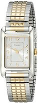 Timex Women's T2P3059J Dress Mini Stainless Steel Two-Tone Watch