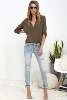 Blank NYC Skinny Classique Distressed Light Wash Skinny Jeans