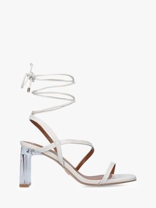 Kurt Geiger Belen Leather Heeled Sandals