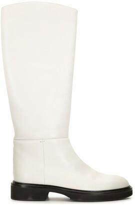 KHAITE Derby calf-length boots