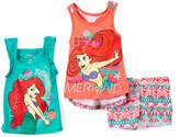 Children's Apparel Network Disney Princess Ariel Racerback Tank Set - Girls