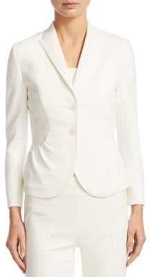 Akris Punto Jersey Button-Front Jacket