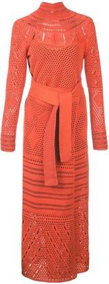 Proenza Schouler Crochet crew neck Dress