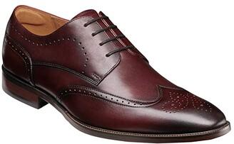 Florsheim Sorrento Wing Tip Oxford (Black Smooth) Men's Shoes
