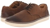 Johnston & Murphy McGuffey Casual Plain Toe Sneaker (Brown Oiled Full Grain) Men's Lace up casual Shoes