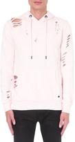 Criminal Damage Shoreditch distressed cotton-jersey hoody