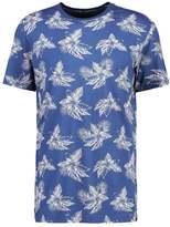 Jack Wolfskin Tropical Print Tshirt Ocean Wave