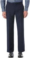 Perry Ellis Portfolio Classic-Fit Flat-Front Linen-Blend Pants