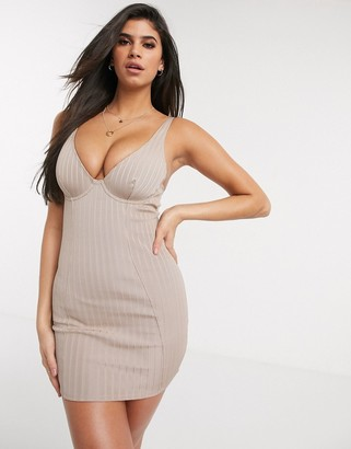 ASOS DESIGN Otta underwire shaping dress
