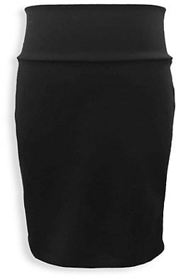 Un Deux Trois Gril's Stretch Pencil Skirt
