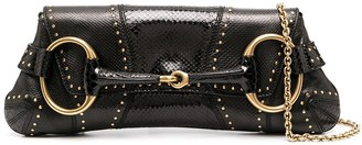 Gucci Pre-Owned Horsebit detail clutch
