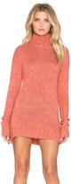 MinkPink Curious Turtleneck Sweater Dress