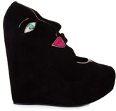 Dolce & Gabbana Suede wedge shoes