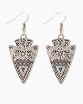 Charming charlie Southwest Arrow Drop Earrings