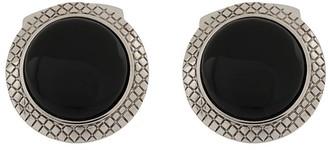 Tateossian Engraved Round Cufflinks
