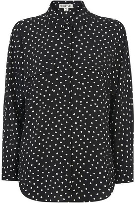 Whistles Abstract Spot Selma Blouse
