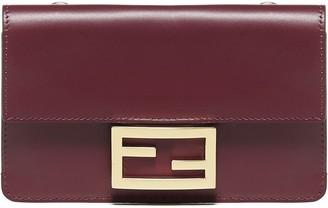Fendi Flat Baguette Mini Crossbody Bag