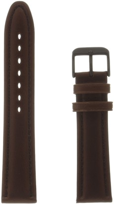 Hadley Roma MSM888RB 200 Brown Leather Calfskin Watch Band