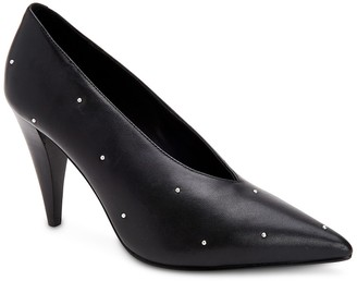 AllSaints Adrianna Leather Studded Pump