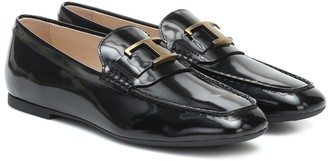 Tod's Timeless patent-leather loafers