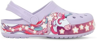 Crocs Unicorn Print Rubber