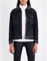 AG Jeans Nancy faded denim jacket