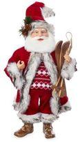 Kurt Adler Santa Ski Set Figurine