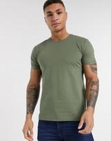 Esprit Organic peached t-shirt khaki