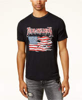 True Religion Men's Tattered Graphic-Print T-Shirt