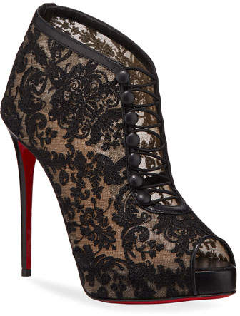 best service 1f486 2bb7f Top Top Red Sole Booties