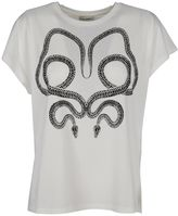 Saint Laurent Serpent Print T-shirt