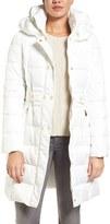 Via Spiga Women's Belted Puffer Coat