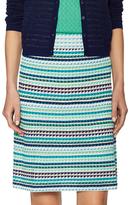 M Missoni Intarsia Cotton Midi Skirt