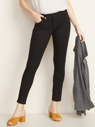 Old Navy Low-Rise Pop Icon Skinny Black Jeans for Women
