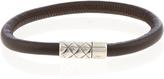 Bottega Veneta Leather-cord bracelet