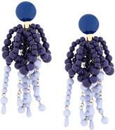 Marni beaded clip earrings