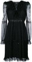 Just Cavalli - layered mesh dress -