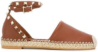 Valentino Rockstud espadrille sandals