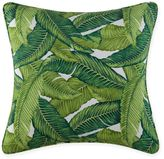 Christian Siriano Tropical Paradise Square Throw Pillow