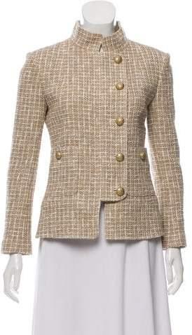 Chanel Tweed Structured Jacket