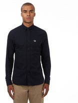 Fred Perry Navy Regular Fit Oxford Shirt