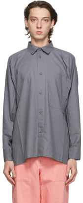 Issey Miyake Grey Flat Shirt