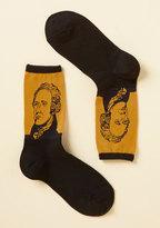 ModCloth Alexander Hamil-toes Socks