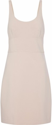 Elizabeth and James Cutout Stretch-ponte Mini Dress