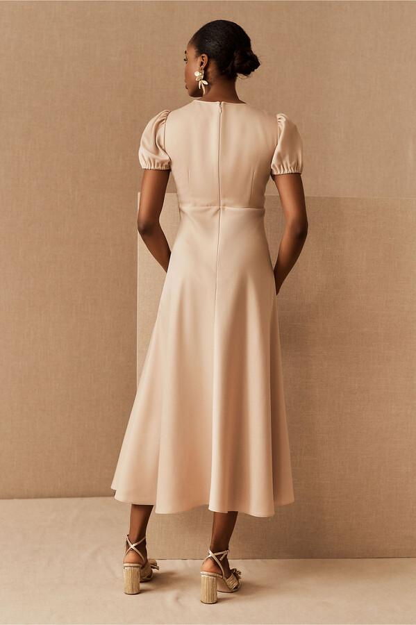 Thumbnail for your product : BHLDN Shelley Satin Charmeuse Midi Dress
